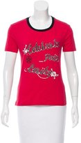Dolce & Gabbana Crew Neck Graphic T-shirt