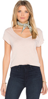 Paige Nicoletta Tee in Blush. - size L (also in )