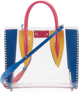 Christian Louboutin Paloma Mini PVC Calf Tote Bag