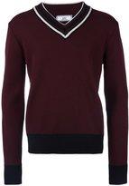 Ami Alexandre Mattiussi v-neck sweater - men - Virgin Wool - L