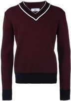 Ami Alexandre Mattiussi v-neck sweater - men - Virgin Wool - S