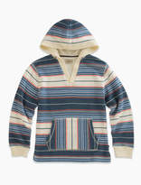 Lucky Brand Long Sleeve French Terry Stripe Hoody