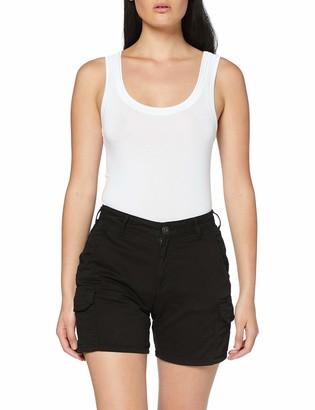 Urban Classics Women's Cargo-Shorts Ladies Kurze Hose High Waist