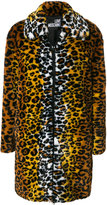 Love Moschino leopard print coat