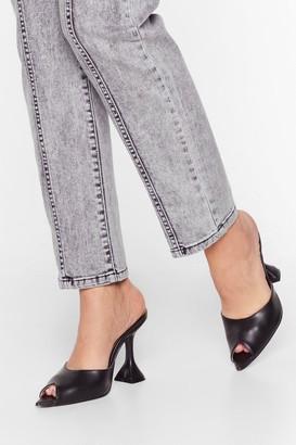 Womens Peep Toe Mules | Shop the world