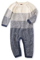 Tea Collection Winter Ohara Sweater Romper in Grey