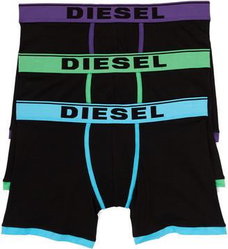Diesel UMBX-Damien 3-Pack Assorted Boxer Briefs