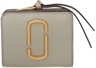 Marc Jacobs Tan Mini Snapshot Compact Wallet