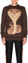 Givenchy Cobra Jacquard Jumper
