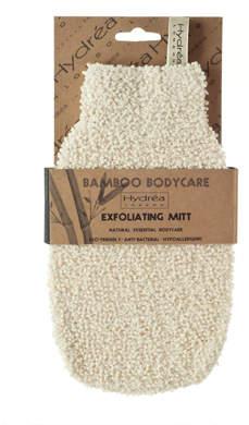 Hydrea London London Bamboo Gentle Exfoliating Mitt - Soft/Medium Texture