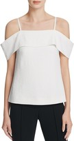 Elizabeth and James Tara Cold-Shoulder Top