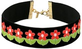 Vanessa Mooney The Flower Power Choker Necklace Necklace
