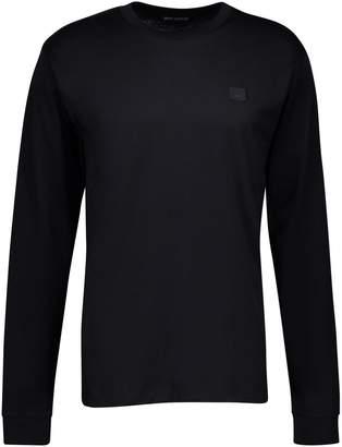Acne Studios Face crew neck long sleeved t-shirt