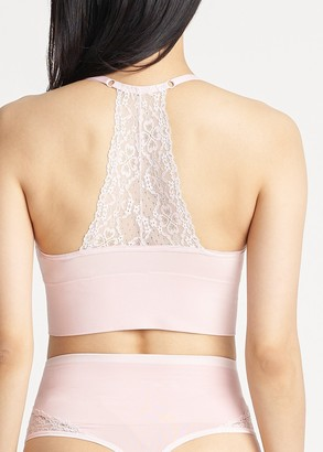 Yummie Ultralight Seamless Lace Back Unlined Bralette