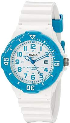 Casio Women's LRW-200H-2BVCF Stainless Steel Watch with Resin Band