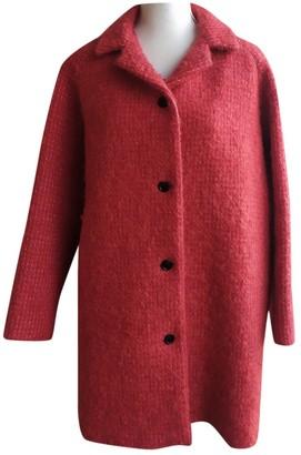 Paul & Joe Red Wool Coat for Women