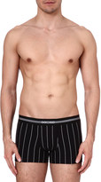 Hom Elegant pin-striped trunks