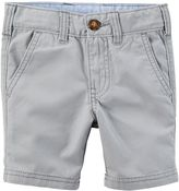 Carter's Baby Boy Woven Flat-Front Shorts