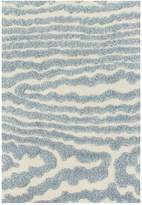 Loloi Rugs Enchant Rug - Ivory/Light Blue