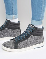 Ted Baker Tyroen Wool Hi Top Sneakers