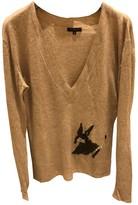 Sandro Beige Cashmere Knitwear