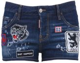 DSQUARED2 Hot Pants With Patches