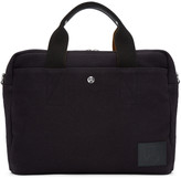 Paul Smith Black Canvas Folio Briefcase