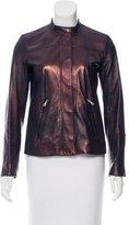 Prada Iridescent Leather Jacket