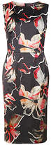 Fenn Wright Manson Petite Lily Print Horizon Dress, Multi