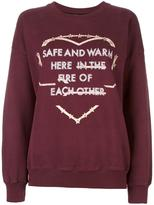 Each X Other 'Safe and Warm' sweatshirt