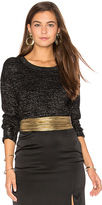 Generation Love Lexi Lurex Top in Black. - size M (also in S,XS)