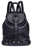 Meli-Melo Mini pebbled leather backpack
