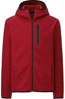 Uniqlo Men Dry Stretch Long Sleeve Sweat Full-Zip Hoodie