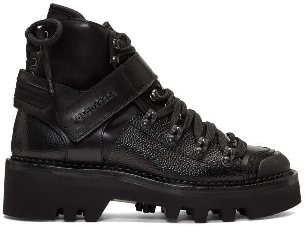 DSQUARED2 Black Country Mountain Boots
