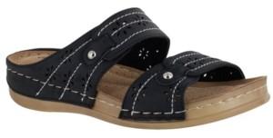 Easy Street Shoes Cash Comfort Sandals Women's Shoes