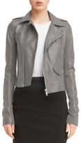Rick Owens Women's Classic Stooges Leather Jacket