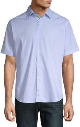 Tailorbyrd Bechet Cotton Button-Down Shirt