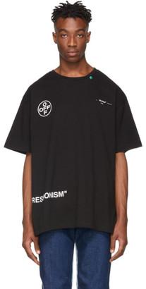 Off-White Black Stencil T-Shirt