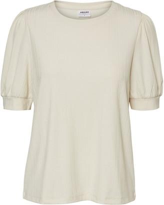 AWARE BY VERO MODA Lerry Puff Sleeve T-Shirt