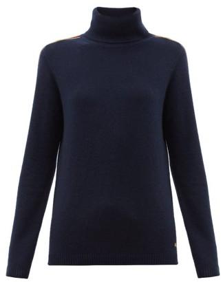 Bella Freud Suzuka Cashmere-blend Roll Neck Sweater - Navy