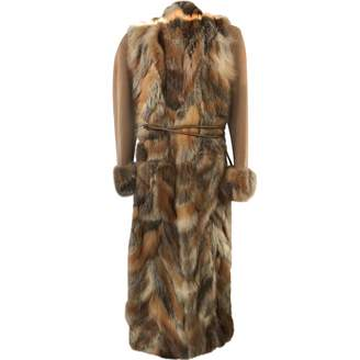 Giuliana Teso Camel Wool Coat for Women