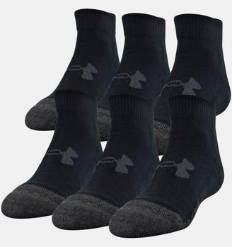 Under Armour Kids' UA Performance Tech Low Cut Socks 6-Pack