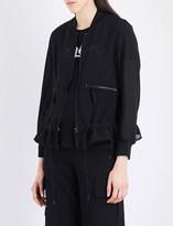 Izzue Semi-sheer woven jacket