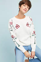 Line & Dot Minnie Embroidered Pullover