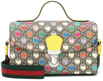 Gucci Kids GG printed canvas crossbody bag
