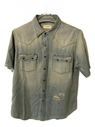 Saint Laurent Blue Denim - Jeans Shirts