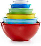 Martha Stewart Collection Set of 6 Melamine Mixing Bowls, Only at Macy's