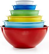 Martha Stewart Collection Set of 6 Melamine Mixing Bowls