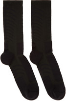 Unravel Black back Bone Socks
