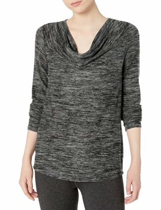 Andrew Marc Women's Marc Ny Performance Long Sleeve Cowl Neck Tunic